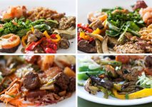Pretty and Tasty vegetarian food collection